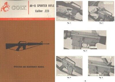 Colt 1972 AR-15 Sporter Rifle Manual
