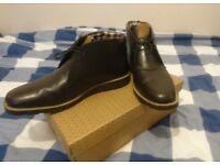 Original Penguin Mens Desert Boots Size 9 Dark Brown