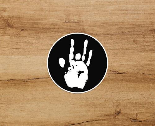 Grateful Dead Jerry Hand Premium Quality Decal Sticker 3 inch Jerry García