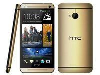 HTC one M8. 16gb. Unlocked. Gold. £110 fixed price