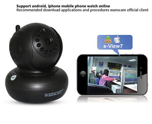IP Camera Motion Detection WiFi Wireless IR Network Video Securi