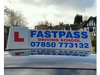 fastpass driving school established in Nottingham for 10 years excellent first time pass rate
