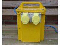 110v yellow site transformer 3.3kva