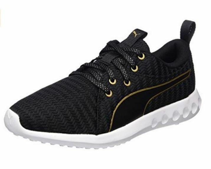 Puma Damen Carson 2 Metallic Outdoor Fitnessschuh Laufschuh 190044 03 Black Gold
