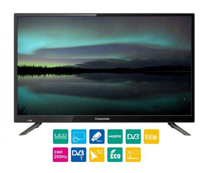"""28"""" Zoll LED TV 70cm LED28D1500ST2 HD Fernseher, DVB-S2/-C/-T, HDMI, USB, EKK A"""