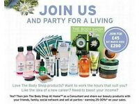 Bodyshop at Home Consultants required