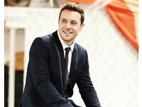 FRONT ROW Nathan Carter Tickets 18/3/18 Clacton on Sea