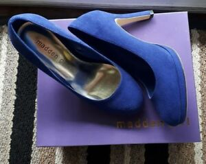 Madden Girl women's size 7 platform heels. Worn once. Excellent