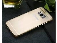 Samsung galaxy S8 edge mirror metal case