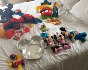 LOT Mickey Mouse Clubhouse (Minnie, Goofy/Dingo)