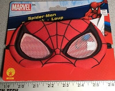 NEW Spiderman or Spider-Girl Eyemask Costume Mask OSFM Halloween Ages 14+ - Spiderman Girl Halloween Costumes
