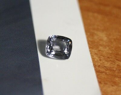 AAA Mahenge Grey / Blue Spinel 1.4ct – Custom Cushion Cut Gem