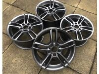"""Refurbished Genuine BMW 19"""" Alloy Wheels - Staggered In Fitment - Bargain!"""