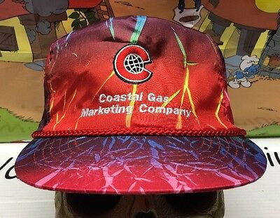 Anr Pipeline Costal Natural Gas Electric Zipback Transcanada Strapback Hat Cap