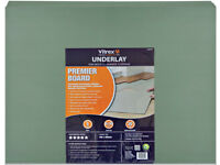 Wood & Laminate Underlay x15 Boards 5mm, Vitrex Prmier Brand, NEW