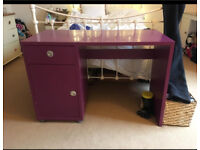 Habitat purple desk