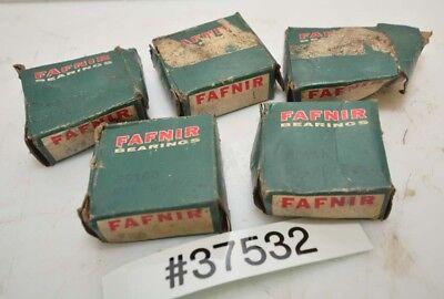 Lot Of Five Fafnir Kp6 Fs160 Roller Ball Bearings Inv.37532