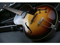 Superb! 1957 Gibson ES-125 Semi Sunburst & Gator Hard Case