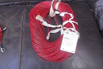 Lichtwellenleiterkabel  250  Meter Lichtwellenleiter Kabel  Rot RFT