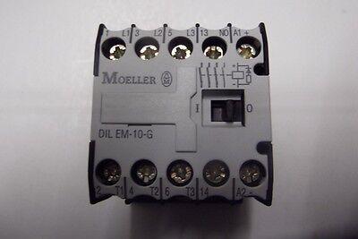 1 Stück Moeller DILEM-10-G ( 24VDC) Schütz 4KW  EAN 4015080102137