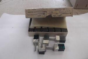 RFT Drehschalter Miniatur Schalter  5 Stk. DDR mit 3 Schaltmodulen  Grün
