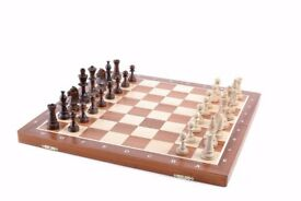 Tournament wooden chess - Witham