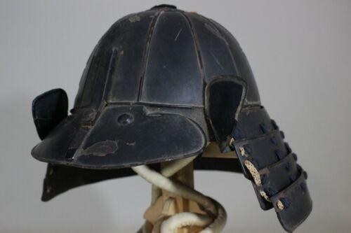 """12 KEN SUJI KABUTO (helmet) of YOROI : EDO : 13.8 × 13.4 × 9.8 """" 2.13kg"""