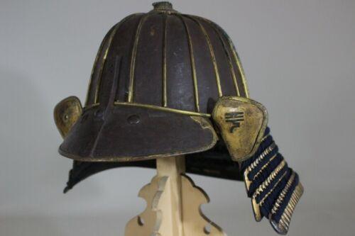 TETSUSABIJI 18 KEN FUKURIN SUJI KABUTO (helmet) of YOROI (armor) : EDO