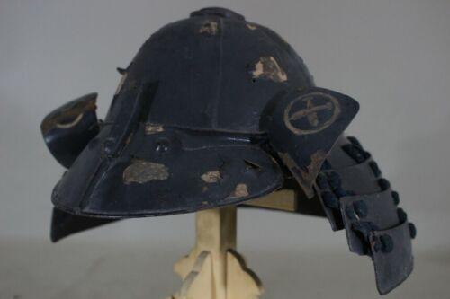 """8 KEN SUJI KABUTO (helmet) of YOROI (armor) : EDO : 15.0 × 13.8 × 9.8 """"  2.28kg"""
