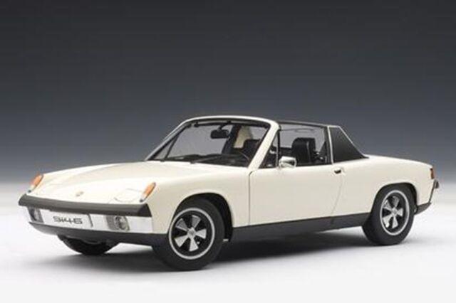 1/18 AUTOart PORSCHE 914/6 (LIGHT IVORY) 1970 zum Sonderpreis