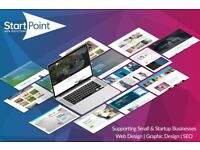 £15/pm Web Design, Domain & Hosting Package | Startup & Small Business Websites | Cambridge