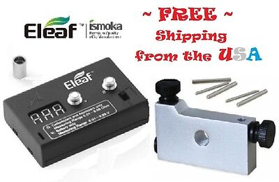 COMBO  Ohm Meter and BLUE Coil Jig RDA / RBA  Shipping Included New!  ()