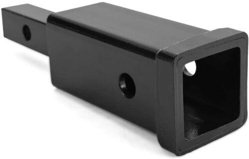 MICTUNING Hitch Adapter 1.25 inches to 2 inches Towing Hitch Receiver Mount Bar