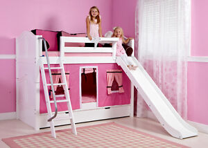SALE 20% OFF+FREE SHIPPING_BUNK & LOFT BED_SOLID WOOD FURNITURE
