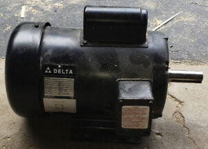 3HP DELTA AC MOTOR & MAGNETIC SWITCH