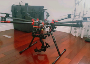 DJI S1000+ Octa-Drone with Zenmuse Z15 BMPCC Gimbal