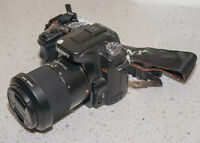 SONY ALPHA DSLR A100 with 18-70mm,3.5-5.6 zoom lens