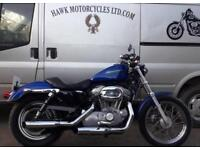 LOVELY 2007 HARLEY DAVIDSON XL883 SPORTSTER, 12449 MILES, SOLO SEAT