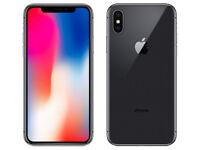 Apple iPhone X 64 GB unlocked SIM-Free Space Grey With Apple Warranty
