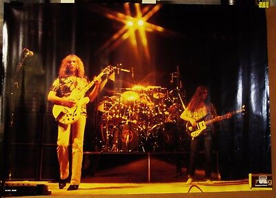 Rush-ORIGINAL 1980's  33 x 23 Roland Poster-New Old Stock!