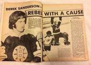Action Sports Hockey Yearbook 1971-72 NHL Magazine Windsor Region Ontario image 2