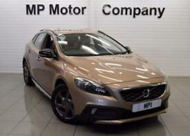2013 63 VOLVO V40 1.6 D2 CROSS COUNTRY LUX AUTO 113 BHP 5DR 6SP ECO DIESEL HATCH