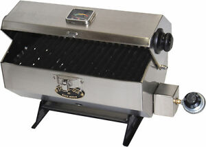 Boater's BBQ for mounting on a boat rail SEA B QUE