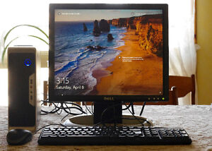 Windows 10 Core I3 Desktop Computer with Monitor - WIFI Included