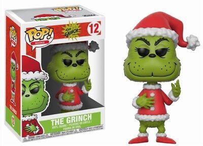 Dr Seuss Spielzeug (Santa Grinch The Grinch Dr. Seuss Weihnachten POP! Books #12 Vinyl Figur Funko)