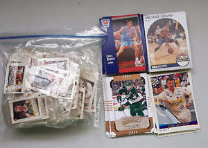 Lot of Various Sports Trading Cards