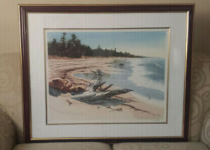 JACK REID HURON COUNTY LIMITED EDITION REPRODUCTION WATERCOLOUR