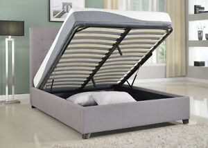 Seymore Storage Hydraulic Lift up Bed