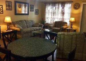 Fully furnished 2 bedroom Apt