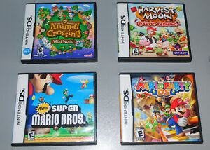 Nintendo DS NDS Games, New Super Mario Bros, Mario Party.... Cambridge Kitchener Area image 1